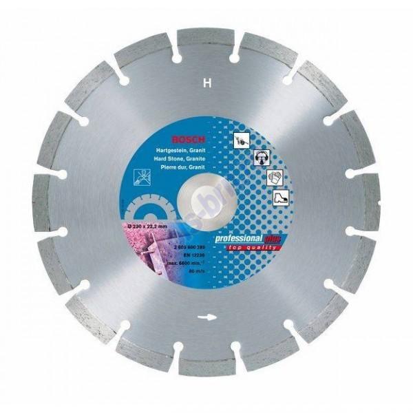 Диск алмазный 180х22х2,3мм Professional Plus гранит