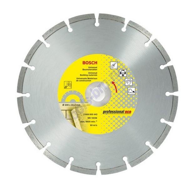 Диск алмазный 180х22х2,4мм Professional Eco универсальный