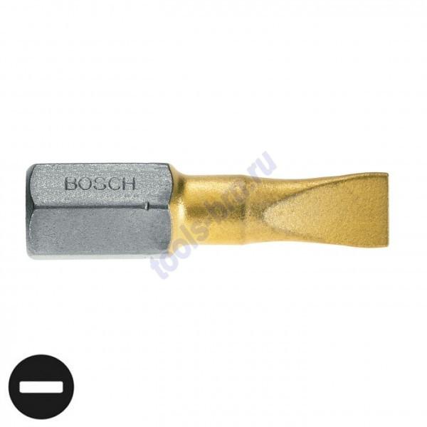 Бит 0,6х4,5 25 мм TIN 1шт/3