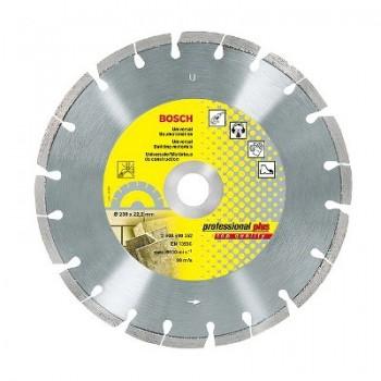 Диск алмазный 230х22х2,6мм Professional Plus универсальный