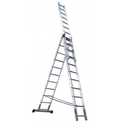 Лестница раскладная раздвижная 3х7