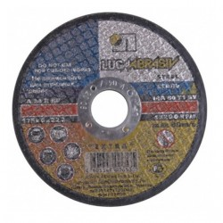 Круг шлифовальный по металлу 115/6х22 14А