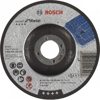 Круг отрезной по металлу Expert for Metal 125/2.5х22