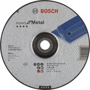 Круг отрезной по металлу Expert for Metal 230/2,5х22