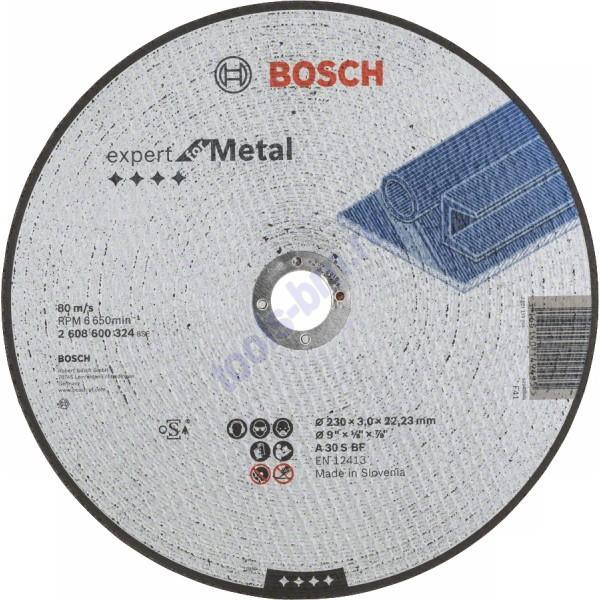 Круг отрезной по металлу Expert for Metal 230/3х22