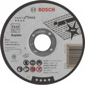 Круг отрезной по нержавейке Expert for Inox 115/1х22