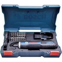 Отвертка аккумуляторная Bosch GO с набором