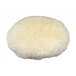 Насадка полировальная 180мм овчина на липучка