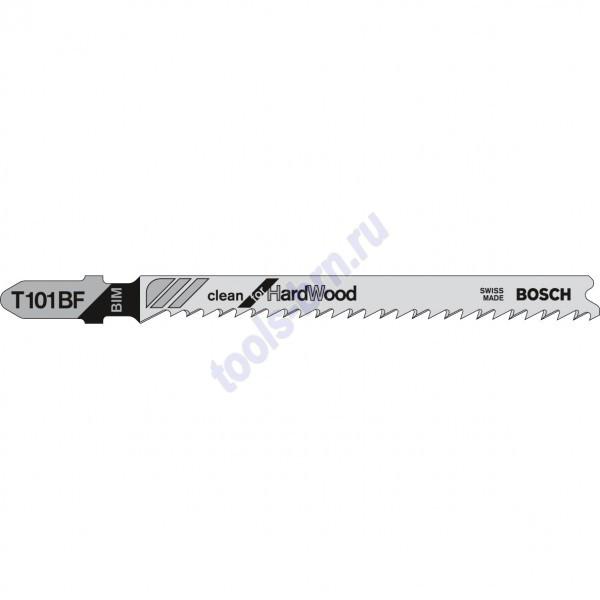 Пилки к лобзику T101BF Clean for Hard Wood 1 шт./25