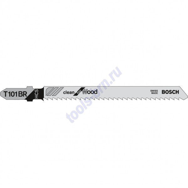 Пилки к лобзику T101BR Clean for Wood 1шт./5