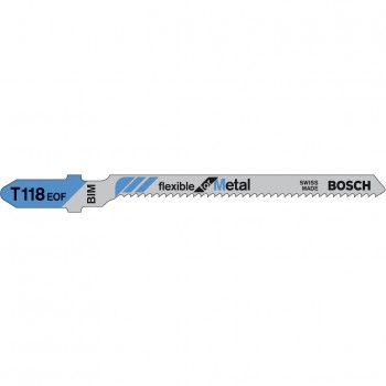 Пилки к лобзику T118EOF Flexible for Metal 1шт./5