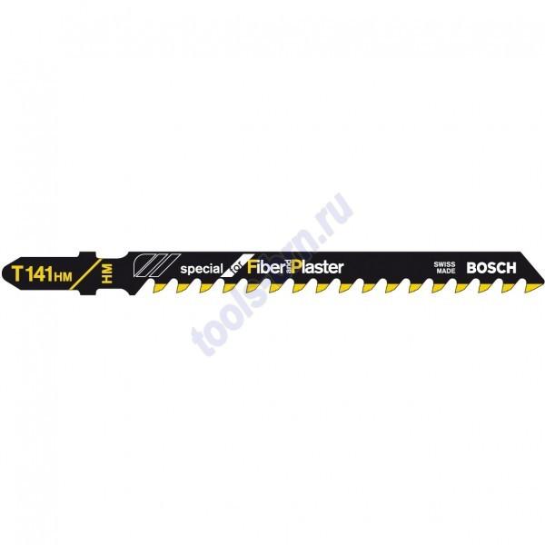Пилки к лобзику T141HM Special for Fiber and Plaster 1шт./3