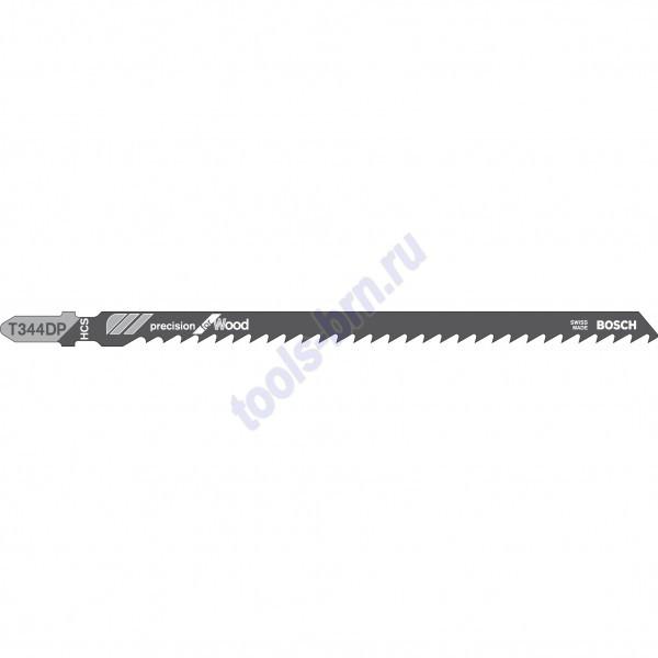Пилки к лобзику T344DP Precision for Wood 1шт./3