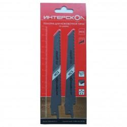 Полотно для ножовочной пилы по дереву 150х127х2,5 мм (2 шт)