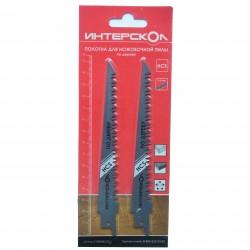 Полотно для ножовочной пилы по дереву 152х130х3,6 мм (2 шт)