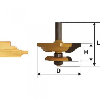 Фреза фигирейная горизонтальная двухсторонняя 79,4 хв. 12мм