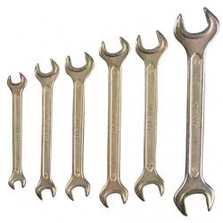Ключи рожковые ТЕХНО 6-19 мм 6 шт.