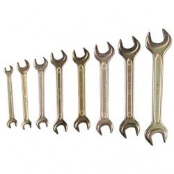 Ключи рожковые ТЕХНО 6-30 мм 8 шт.