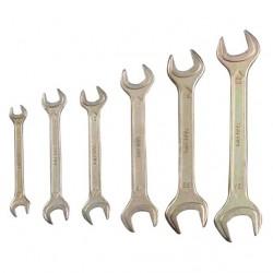 Ключи рожковые ТЕХНО 8-24 мм 6 шт.