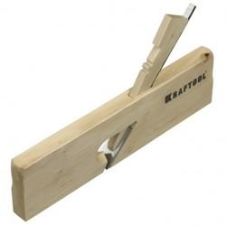 Рубанок деревянный 18х250мм KRAFTOOL Зензубль
