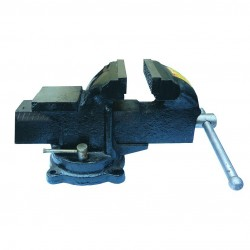 Тиски слесарные 150 мм, поворот с наковальней