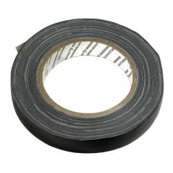 Изолента черная ПВХ армир. х/б 19х25х0,3 мм