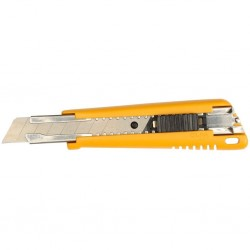 Нож OLFA с выдвиж. лезвием, с автофиксатором, 18мм