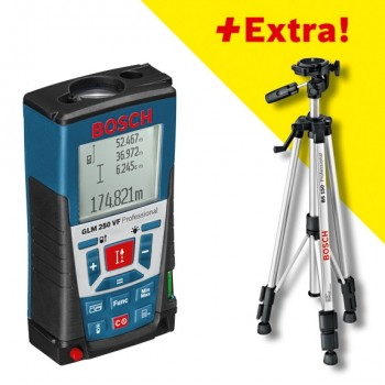 Измеритель длины лазерный GLM 250VF + штатив BS150
