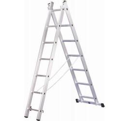 Лестница раздвижная 2х7 Hardax
