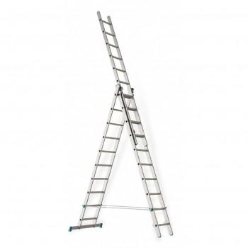 Лестница раскладная раздвижная 3х10 Hardax