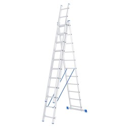 Лестница раскладная раздвижная 3х11