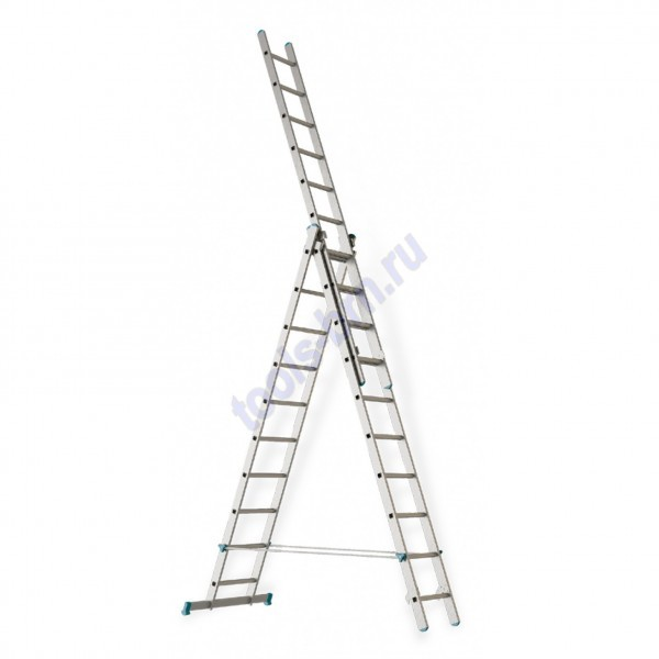 Лестница раскладная раздвижная 3х12 Hardax