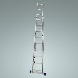 Лестница раскладная раздвижная 3х9