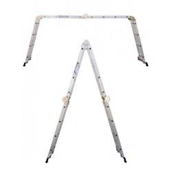 Лестница-трансформер шарнирная 4х4