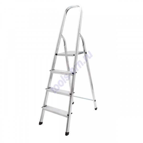 Лестница-стремянка 4 ст алюминиевая Hardax
