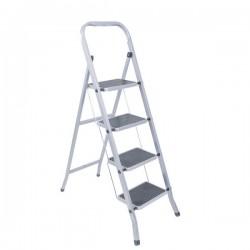 Лестница-стремянка 4 ст стальная широкие ступени