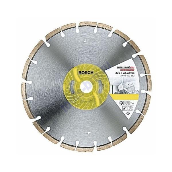 Диск алмазный 115х22х2,1мм Professional Plus универсальный
