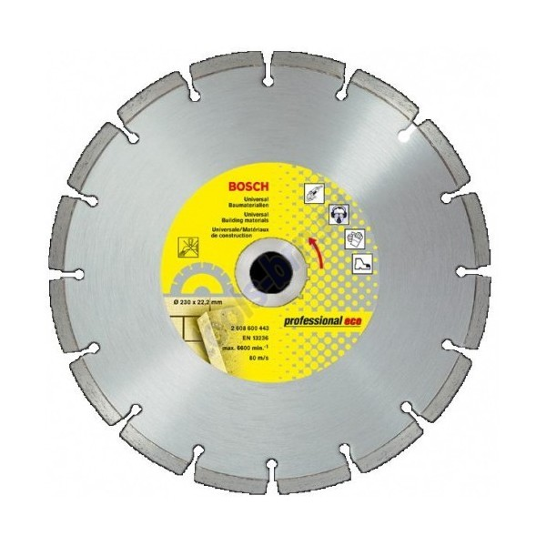Диск алмазный 150х22х2,3мм Professional Plus универсальный